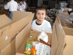 Volunteer work starts young