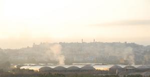 Baka Al-Garbiye - north central Israel Daily Garbage Burning