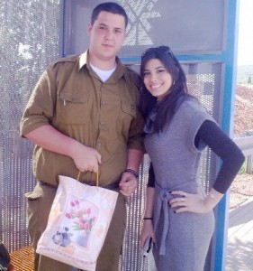 Delivering mishloach manot to soldiers IV