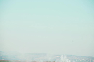Gilboa Region Northern Israel more Garbage Burning