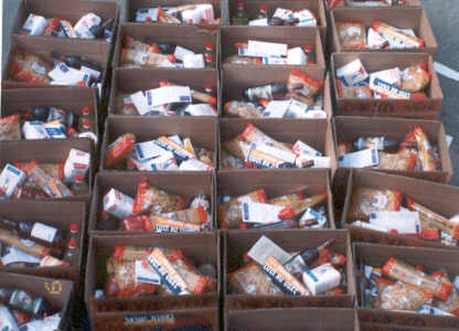 Food packages for needy families