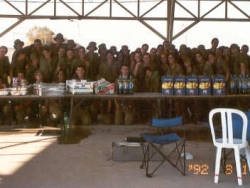 Satisfied paratroopers