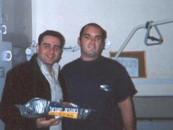 Visiting terror victim recuperating at Levenstein Hospital